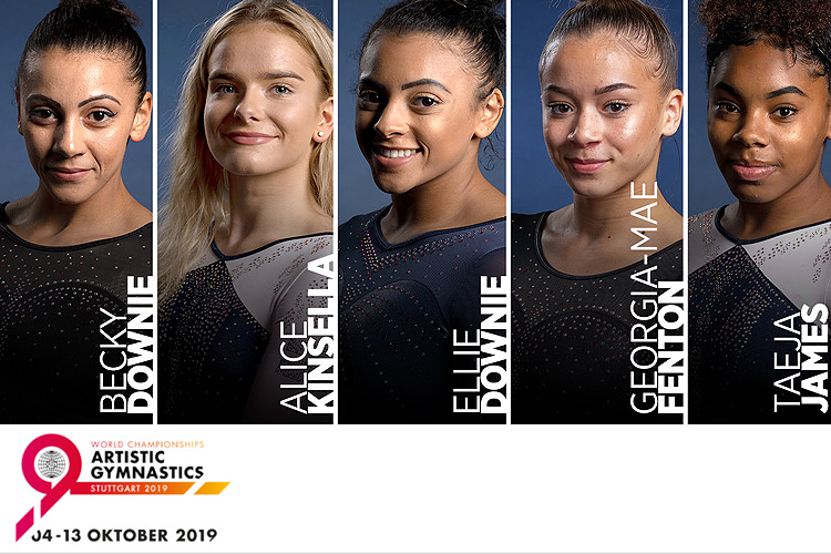 Meet the women's 2019 Artistic World Championships team