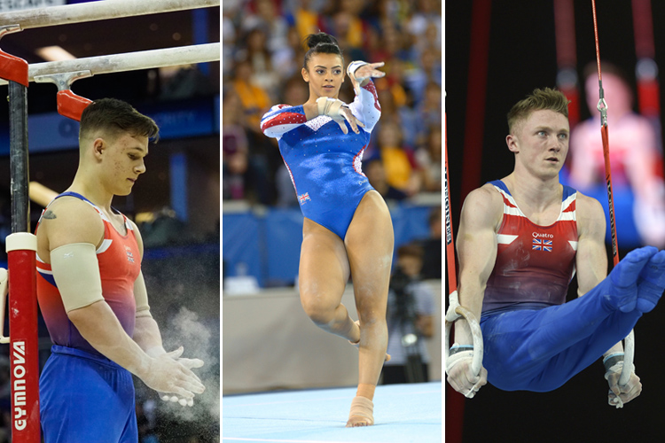 World Cup gymnasts