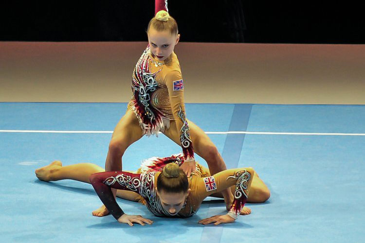 Triple gold and two bronze for GB as Acrobatic Gymnastics World Age Group Competitions begin