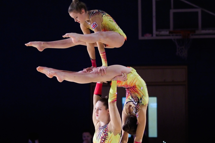 GB gymnasts ready for action at Acro World Cup and American Cup
