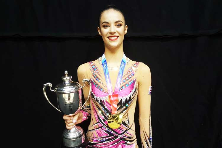 Welsh star Laura Halford wins fourth senior British rhythmic title