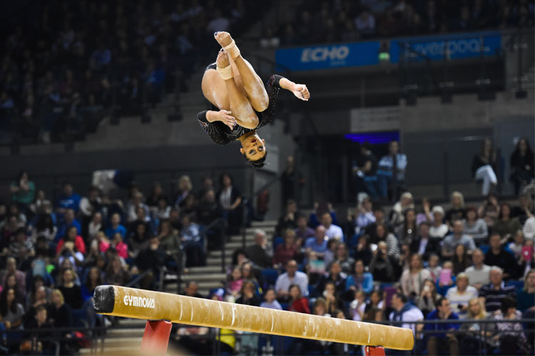 Ellie Downie dominates Osijek World Challenge Cup with four golds