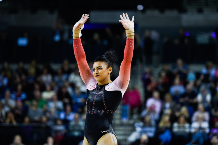 Record-breaking 2017 Gymnastics British Championships