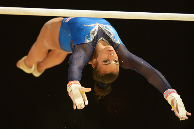 Ellie Downie takes historic bronze