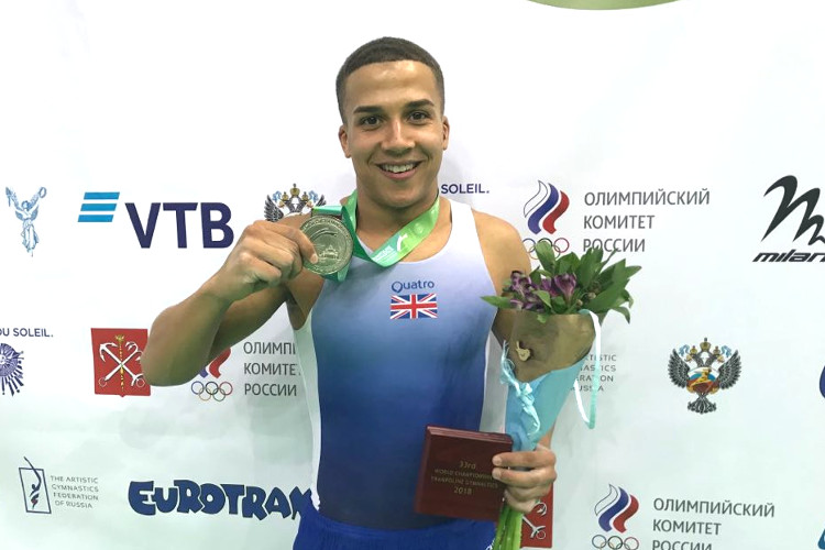 Elliott Browne wins sensational world tumbling silver