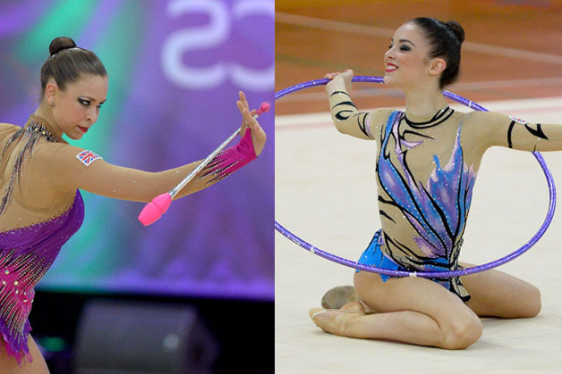 Halford & Jones share Rhythmic British apparatus titles
