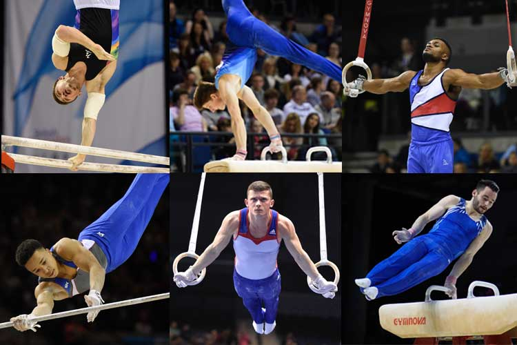 GB men's team announced for European Championships