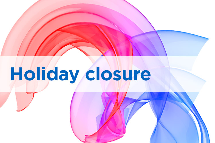 Easter break closing times