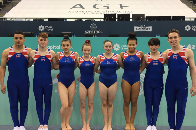 Brilliant opening day at 2018 Trampoline, Tumbling & DMT European Championships for GB gymnasts