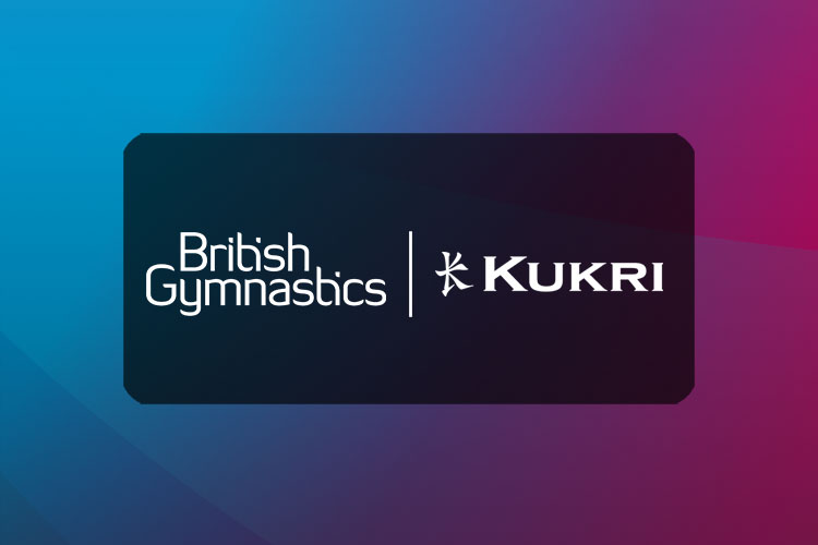 Kukri announced as Official Teamwear Partner of British Gymnastics