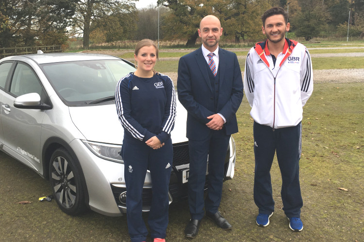Trampoline champions rewarded with new cars