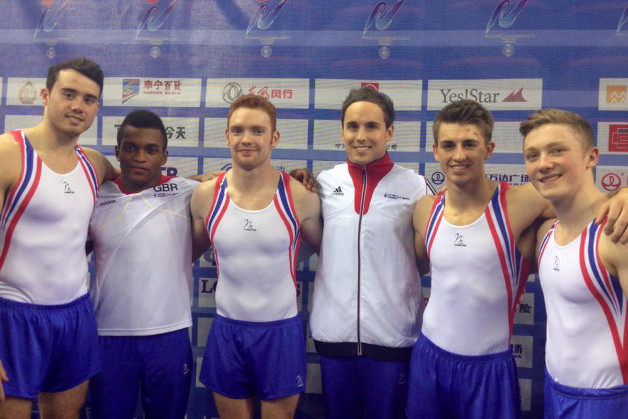 Historic World 4th for British men's team