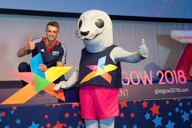 Max Whitlock unveiled as Glasgow 2018 ambassador