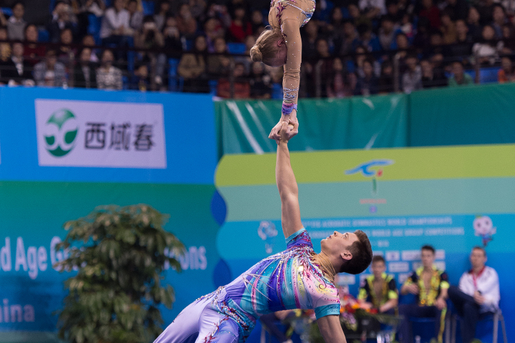 Double bronze for GB at Acrobatic World Championships
