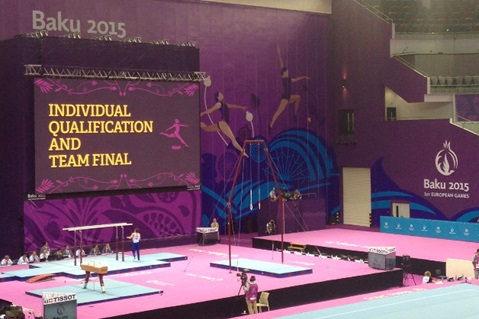 Kelly Makes Baku 2015 Finals