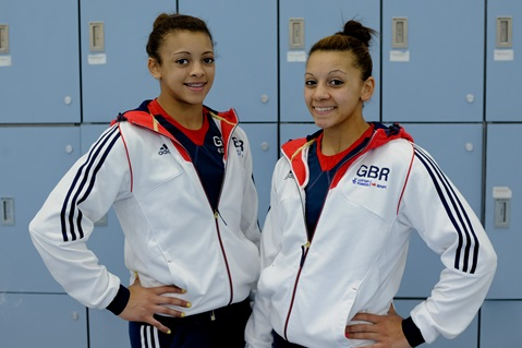 European Selection for Nott's Sisters Becky and Ellie