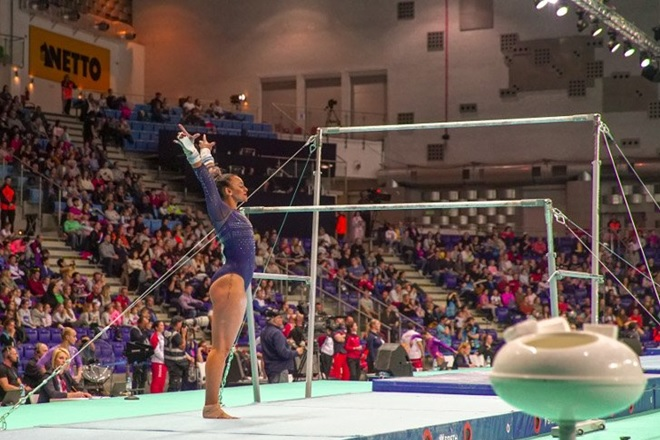 Ellie Downie 2019 European Championships