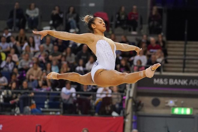 Ellie Downie BG Champs 2019
