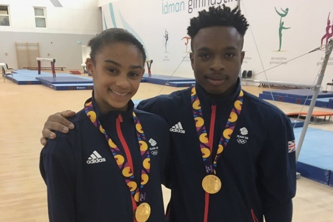 Vault Gold for Raekwon at the European Youth Olympic Festival