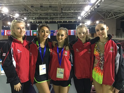 ENG Rhythmic Team - Aphrodite Cup, Greece