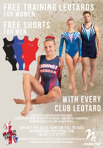 Milano Club Leotard Offer2019