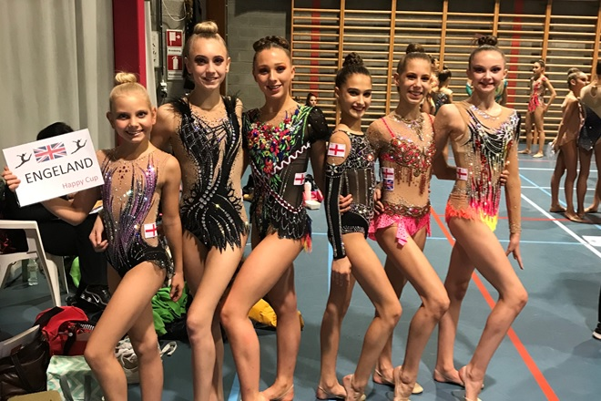 Rhythmic Happy Cup Competition 2019