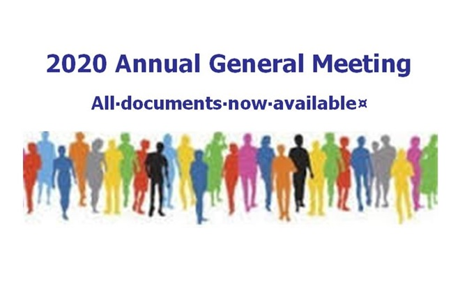 2020 AGM Documents Now Available