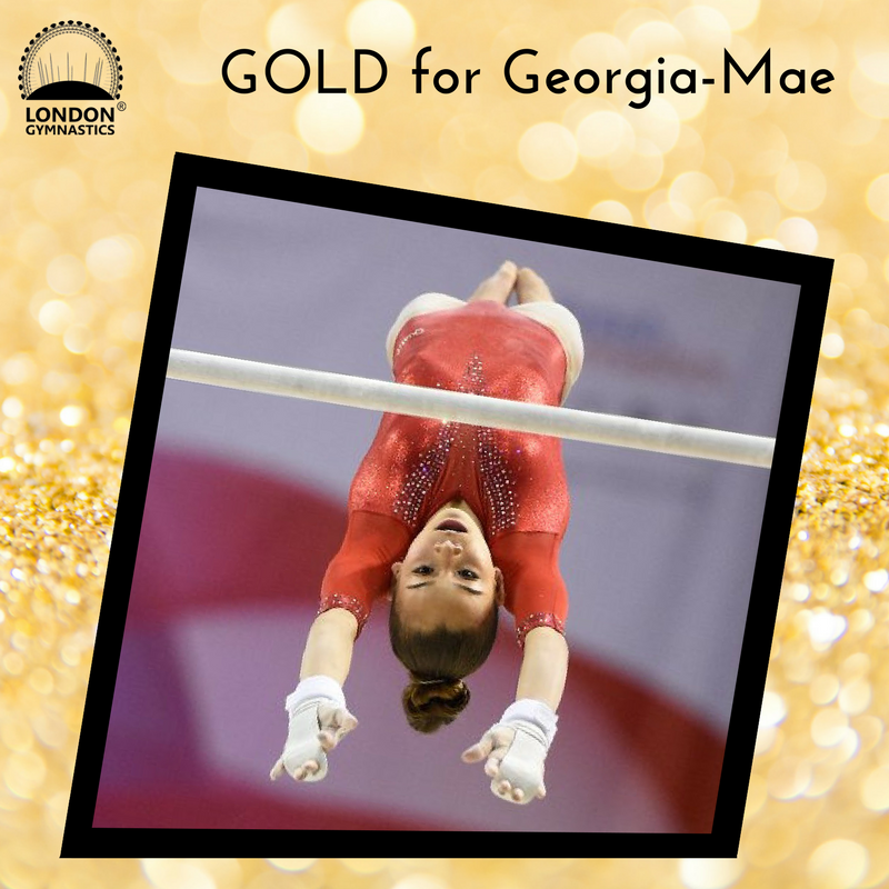 Glittering GOLD for Georgia-Mae Fenton!