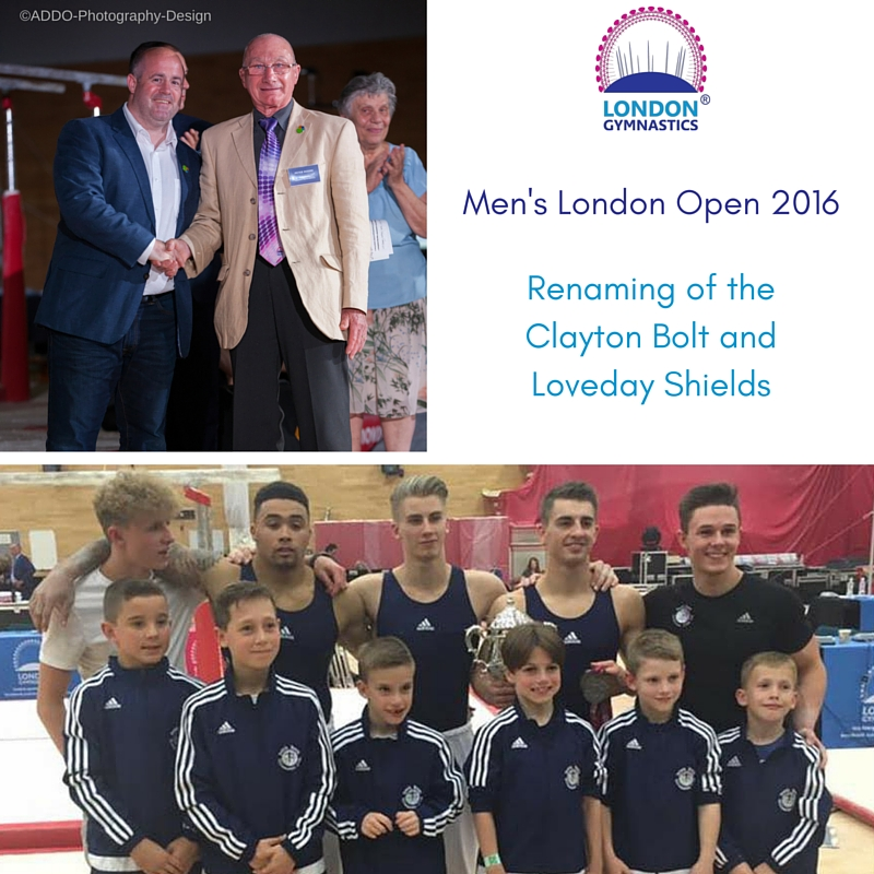 Men's London Open Shield Rebrand