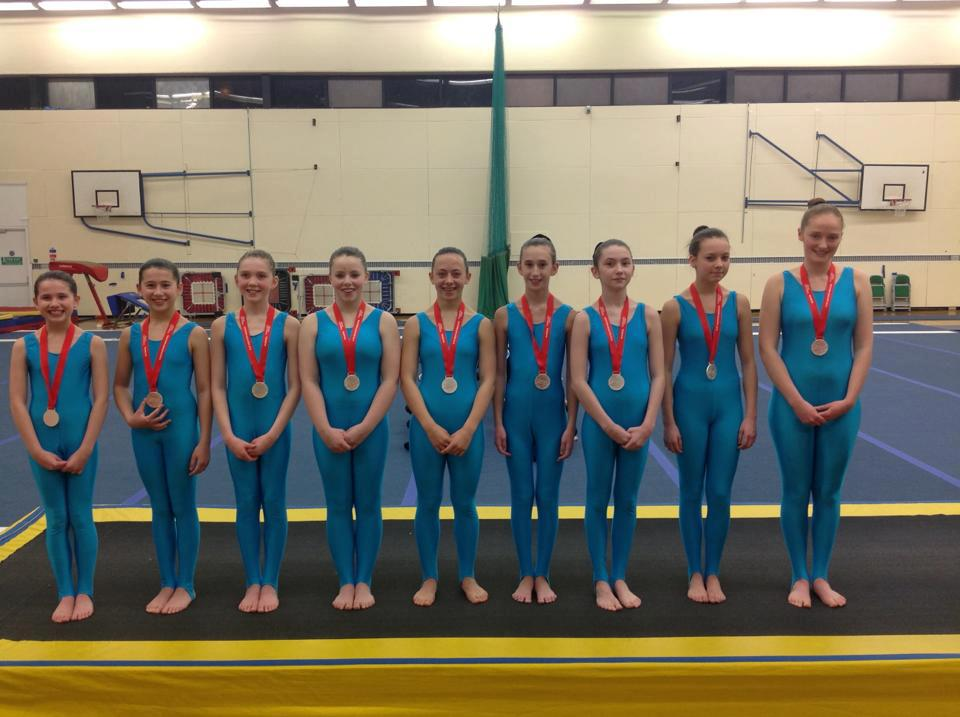 Success for Heathrow GC at Southern TeamGym Qualifiers