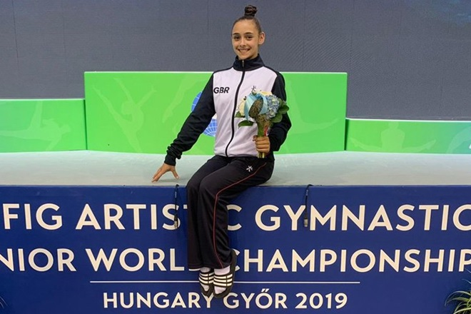 Success at First Junior Artistic World Championships