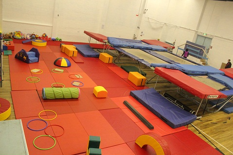 Axis Trampoline Move To New Venue