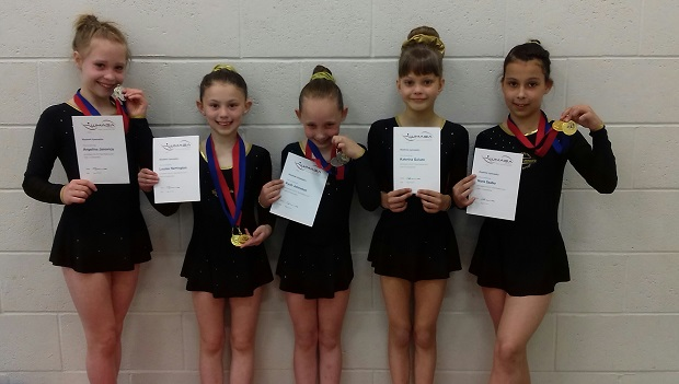 First success for Coventry Empire at Rhythmic Level 1 to 3 Championships