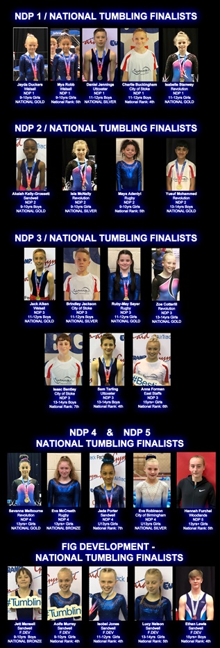 NDP Finals 2019 Finalists
