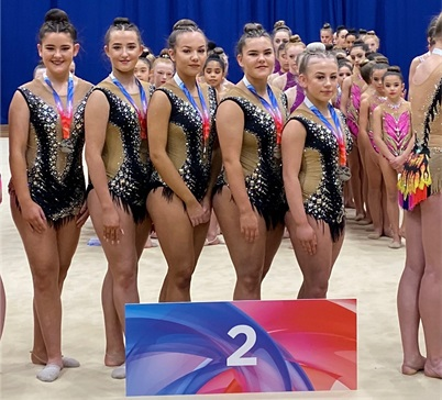 Regions Rhythmic Groups 2019 City of Birmingham Bluestars