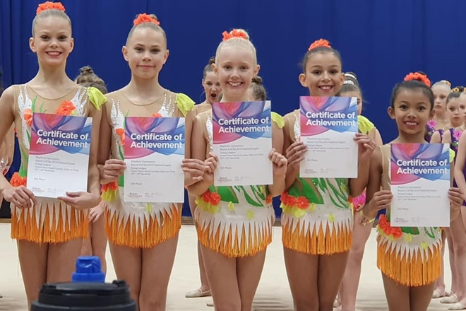 Successful end to 2019 for the Region's Rhythmic Groups