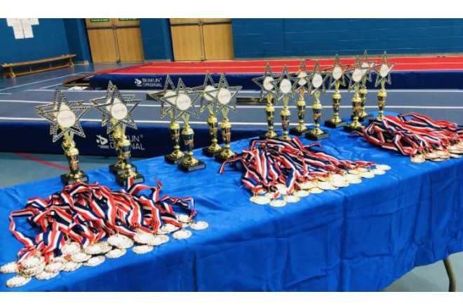 West Midlands Novice Tumbling Team Championships 2019
