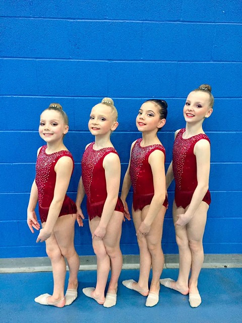 Rhythmic Gymnasts Triumph