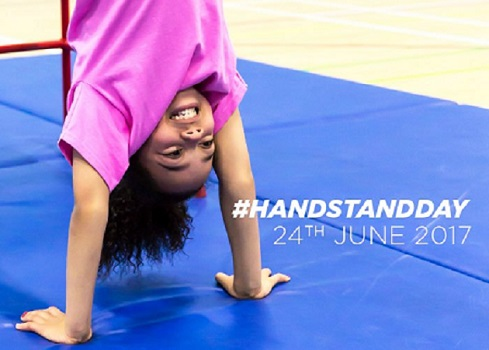International #HandstandDay is back! Saturday 24th June 2017