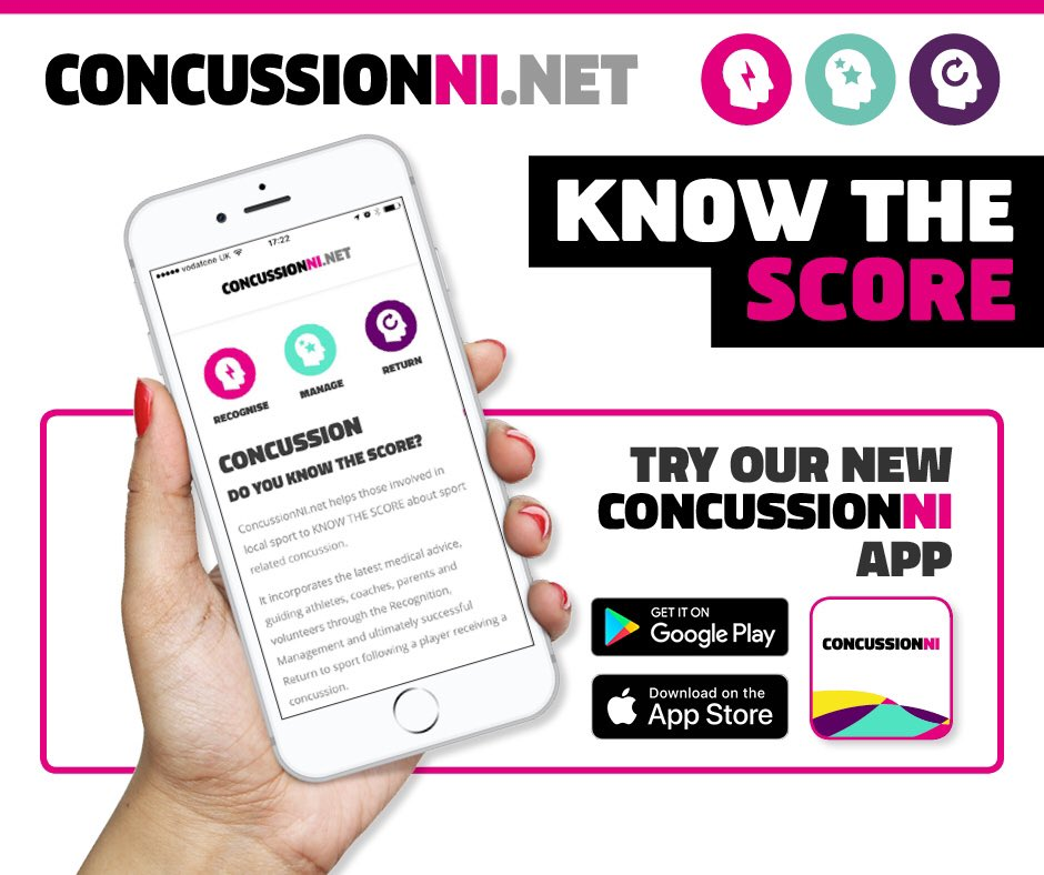 "NEW CONCUSSION WEBSITE HAS BEEN LAUNCHED – ""KNOW THE SCORE"