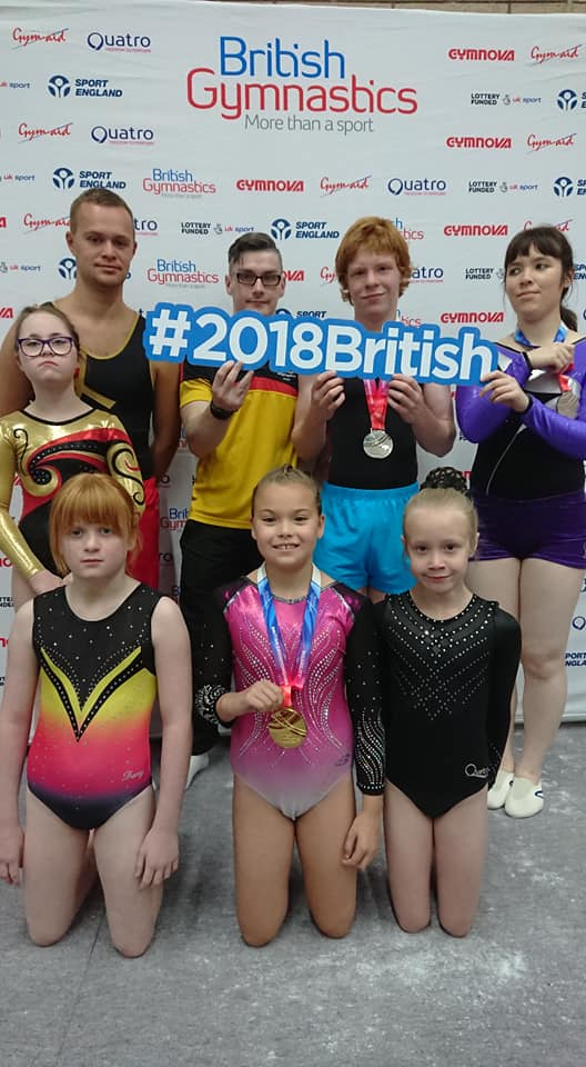 FANTASTIC RESULTS FOR N.I. AT THE 2018 DISABILITY ARTISTIC BRITISH CHAMPIONSHIPS