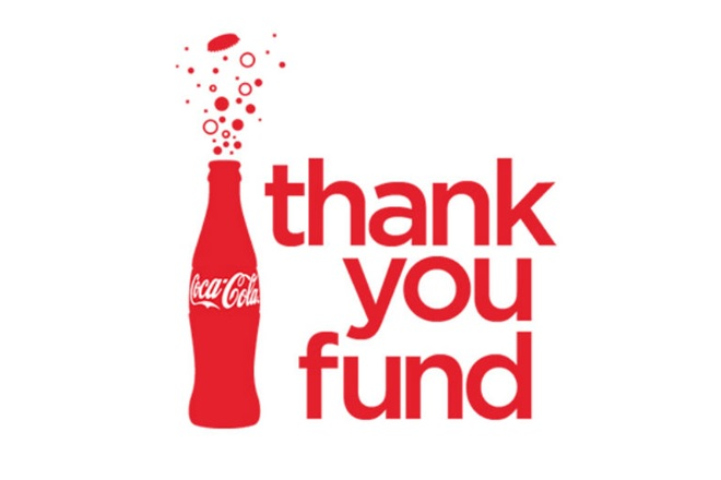 Applications for the Coca Cola Thank You Fund are now Open