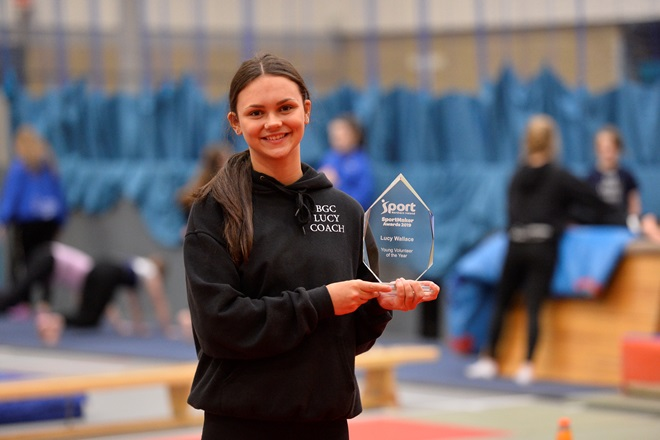 Lucy Wallace 3 Sport NI Young Volunteer of the Year Award 2019