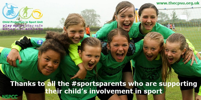 Parents in Sport Week 2017