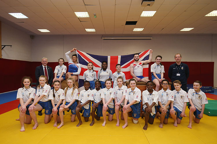 GB stars for Birmingham World Cup announced at city school