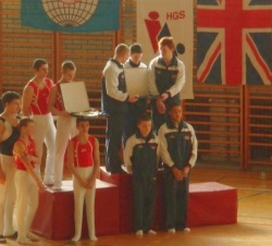 GBR Juniors win in Croatia (2008)