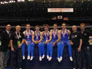 GBR take Bronze at Japan Cup