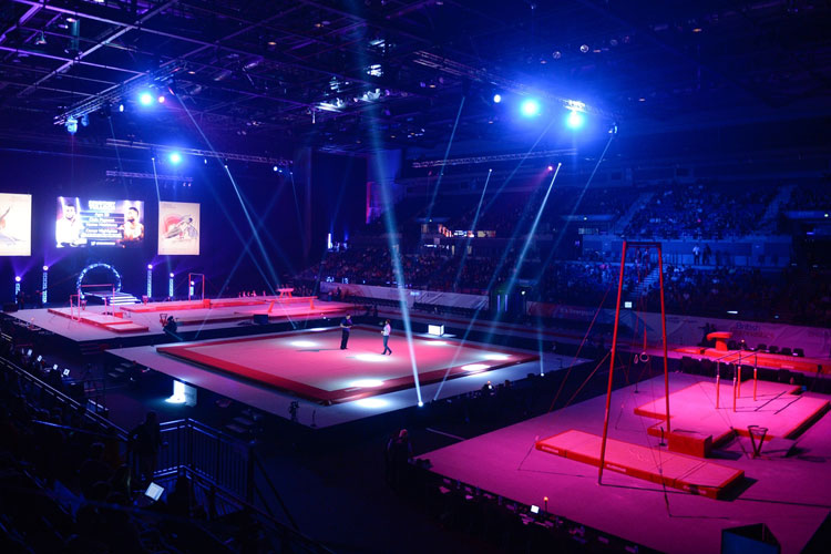 Record attendance at the 2016 Artistic British Championships