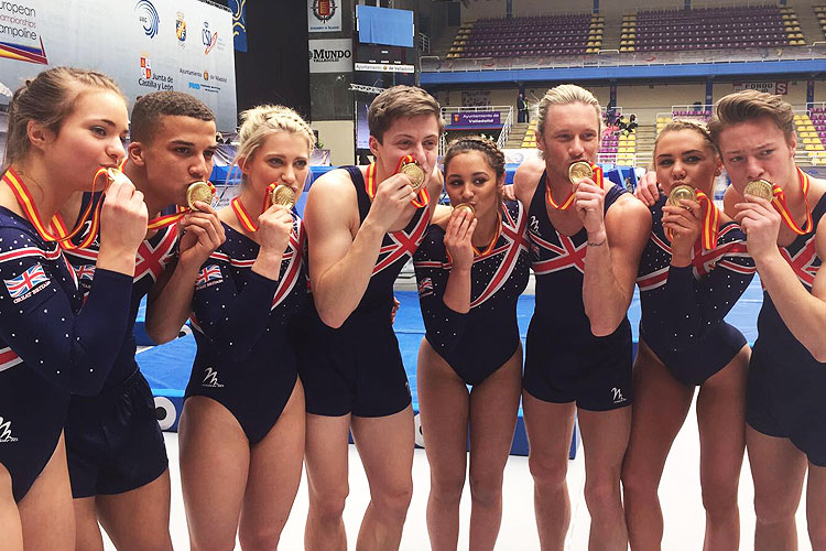 GB's phenomenal performances in the trampoline, tumbling & DMT Europeans continue