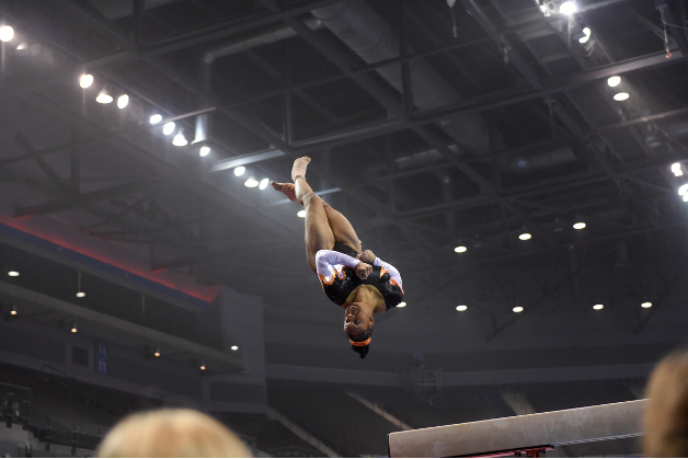 Outstanding routines end British Championships